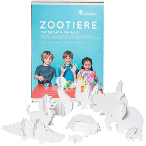 3D colour-in toys: elephants, unicorns, ponies, pirate ships, palaces, tipper trucks, zoo, farm, dragons