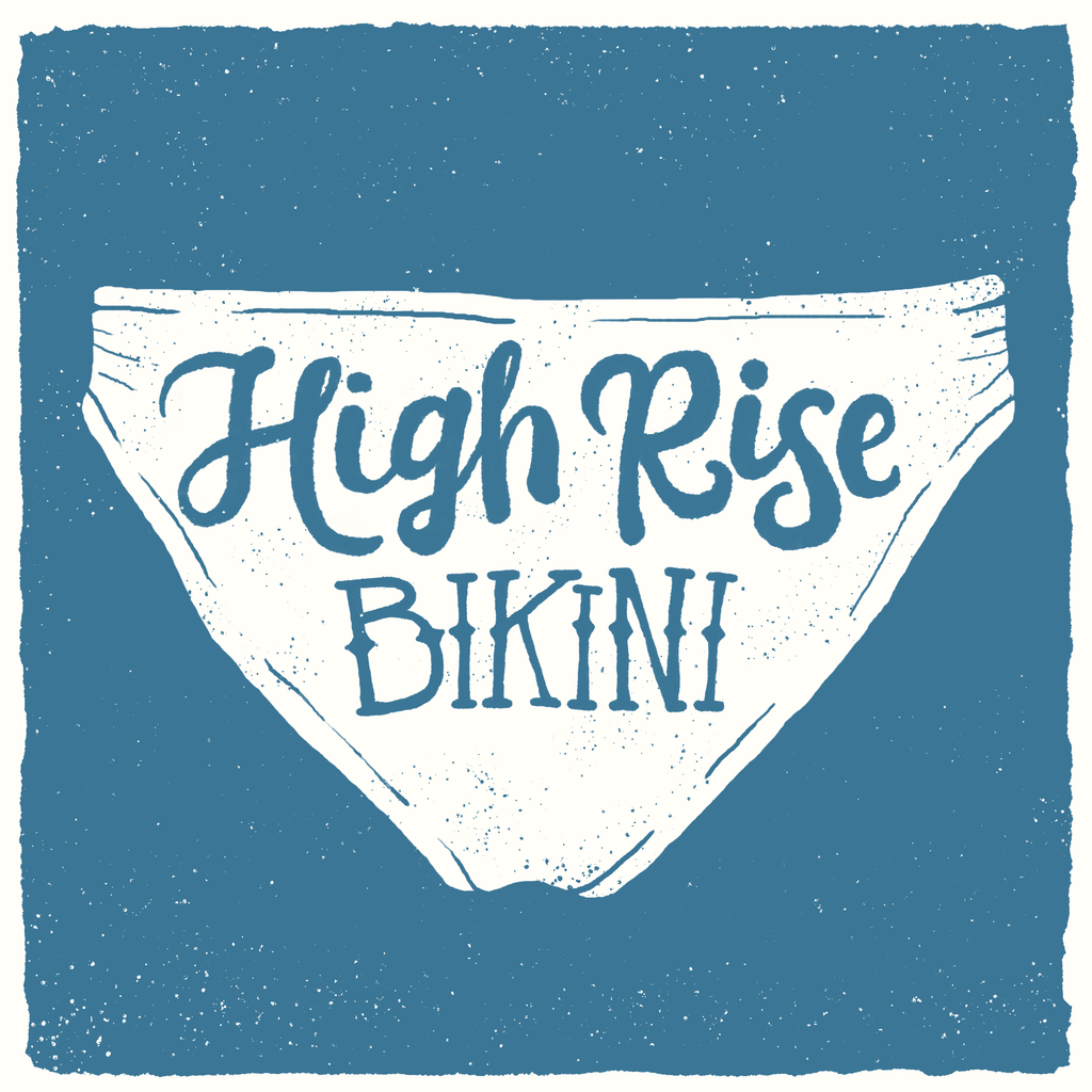 Organic Cotton High Rise Bikini Underwear