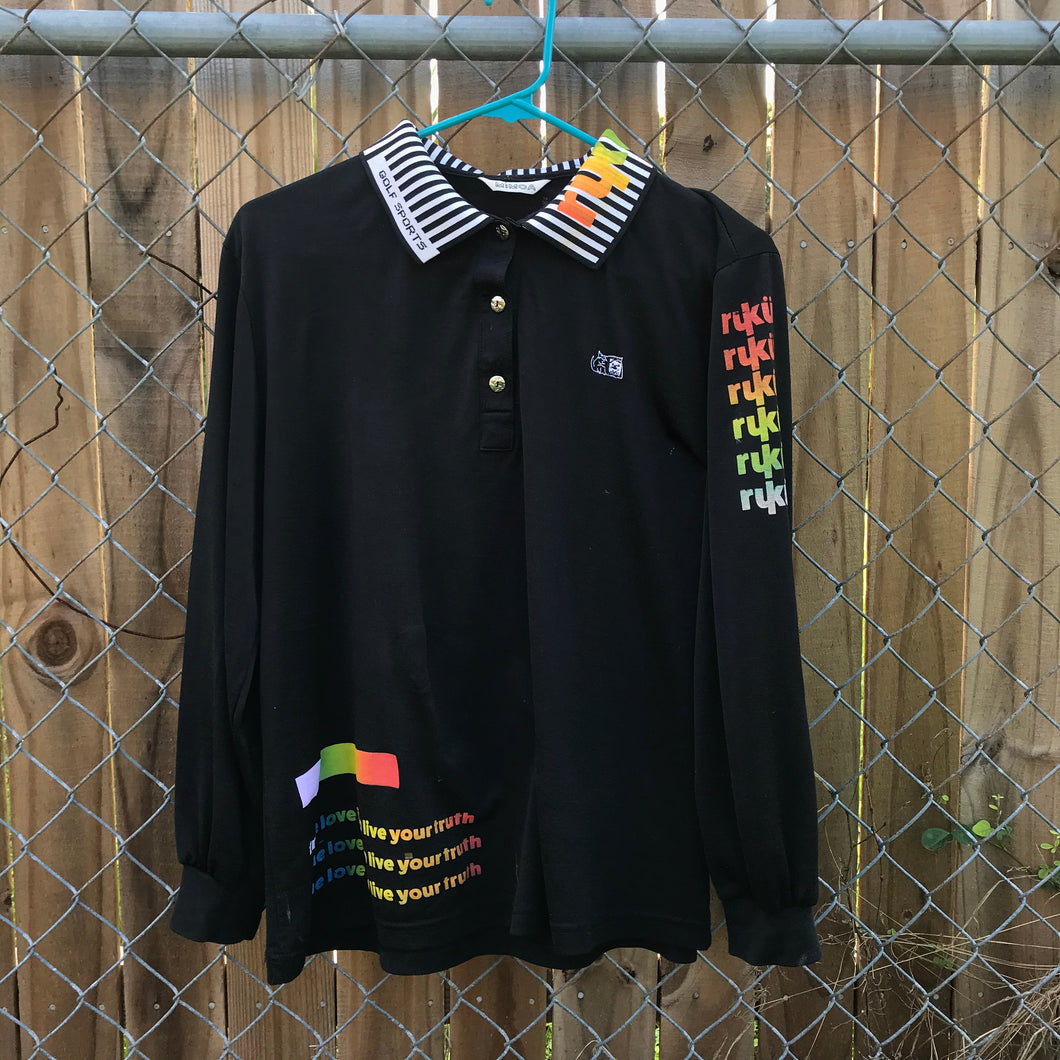RUKU PRIDE Collared Long Sleeve