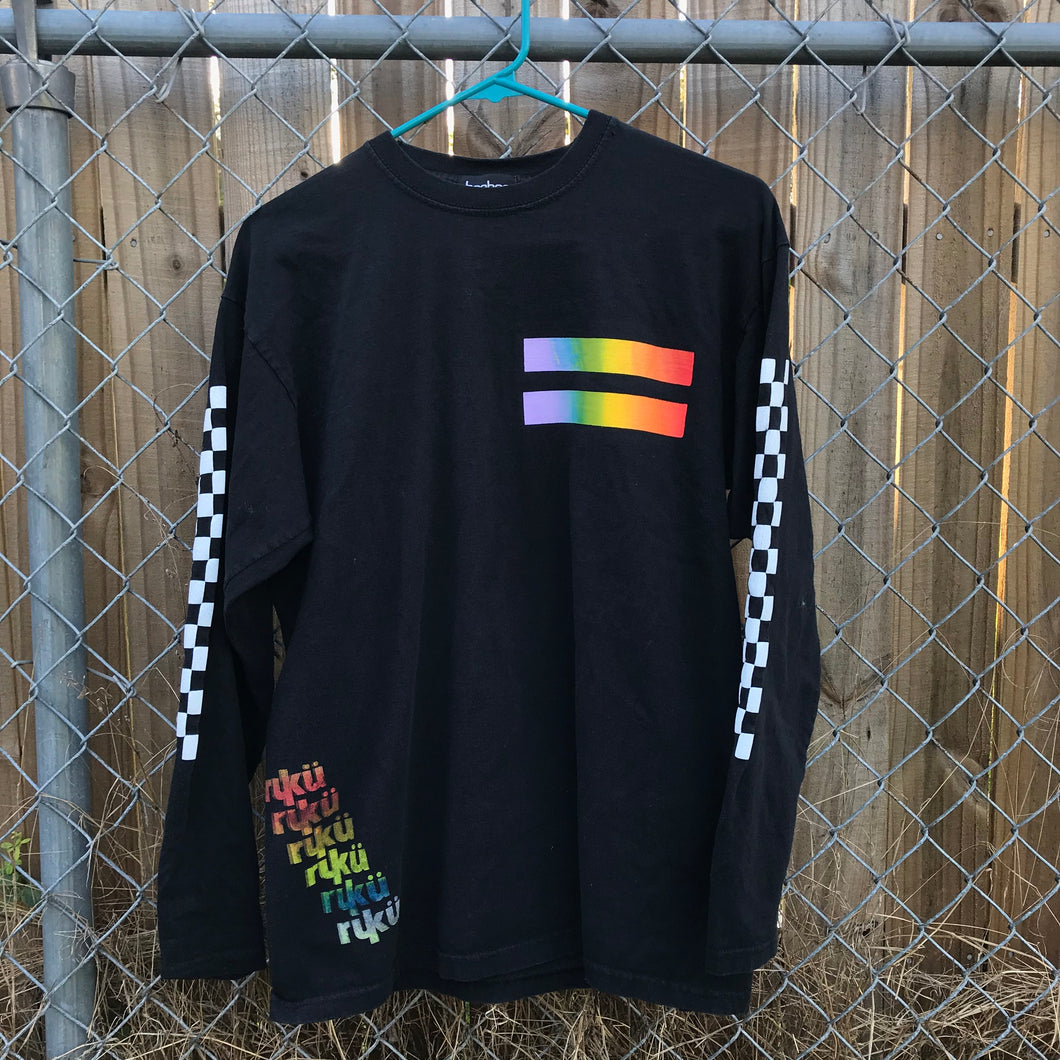 RUKU PRIDE Checkered Long Sleeve