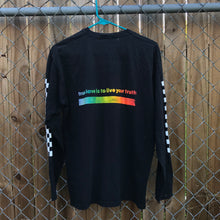 Load image into Gallery viewer, RUKU PRIDE Checkered Long Sleeve