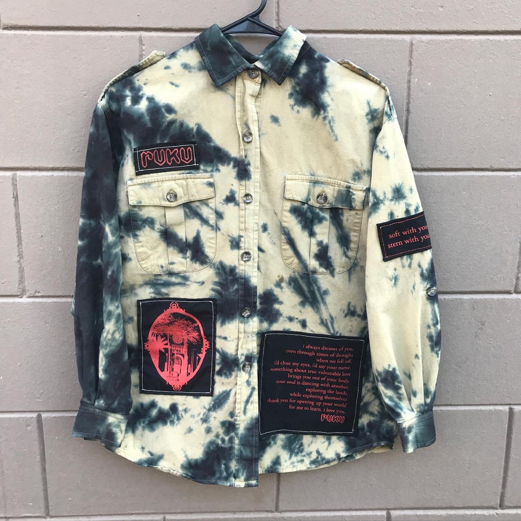 ETERNITY Cargo Button Up