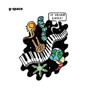 G-Space Sticker