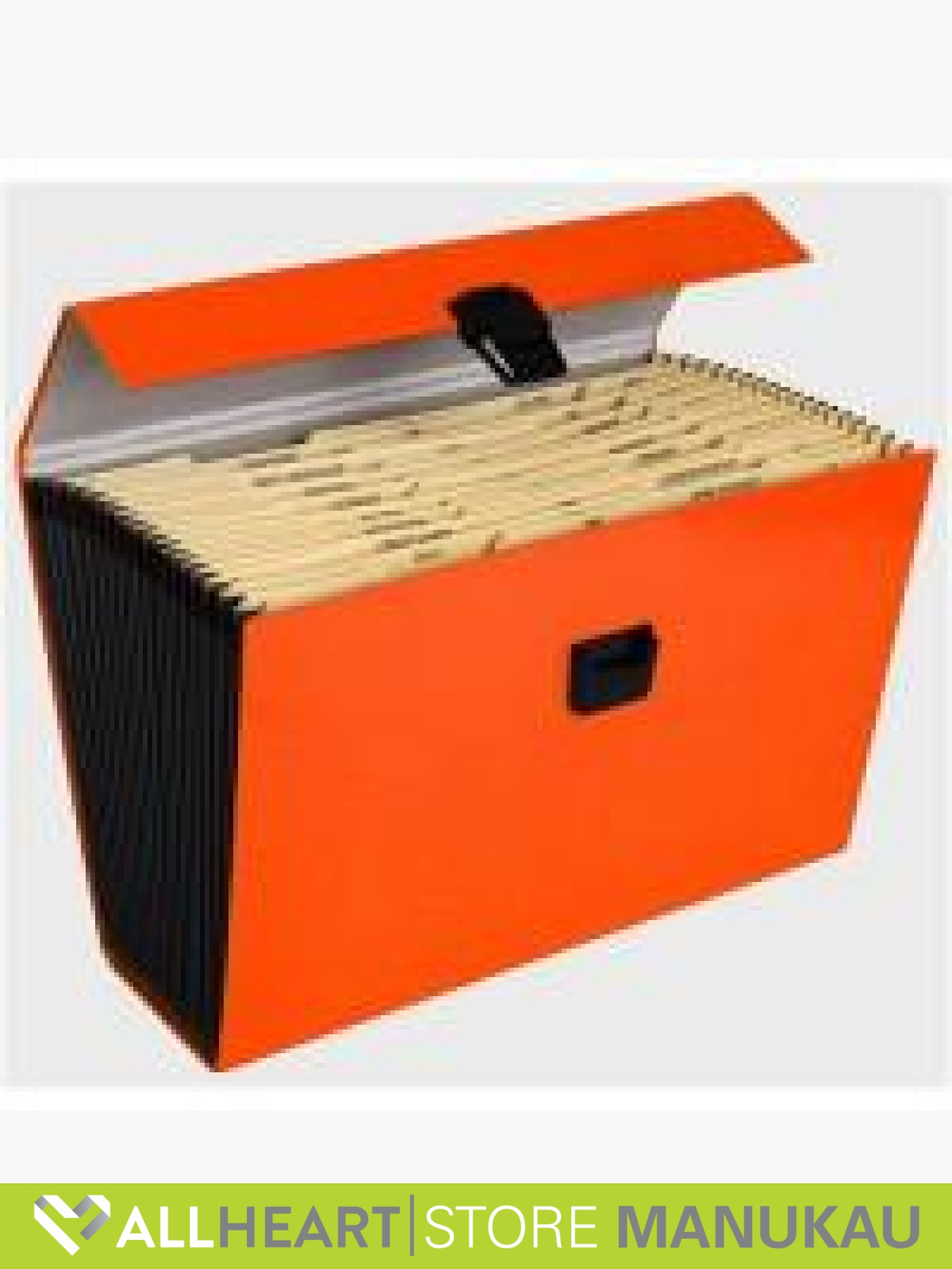 Expanding Files 19 Pocket A4 Orange - Office Supplies