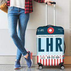 Luggage Cover - London Heathrow Airport