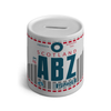 ABZ - Aberdeen Airport Ceramic Money Box