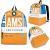 AMS - Amsterdam Airport Backpack