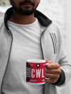 CWL - Cardiff Airport - Coffee Mug - Cardiff, United Kingdom