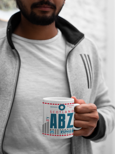 ABZ - Aberdeen Airport - Coffee Mug - Aberdeen, United Kingdom