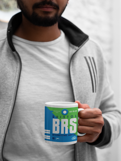 BRS - Bristol Airport - Coffee Mug - Bristol, United Kingdom