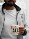 ATL - Atlanta Airport - Coffee Mug - Atlanta, Georgia
