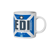 Edinburgh Airport - EDI - Coffee Mug - Edinburgh, United Kingdom