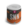 SNN - Shannon Airport Ceramic Money Box