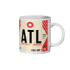 Atlanta Airport - ATL - Coffee Mug - Atlanta, Georgia