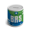 BRS - Bristol Airport Ceramic Money Box