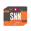 SNN - Shannon Airport Mousepad or Mouse Mat
