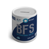 BFS - Belfast Airport Ceramic Money Box