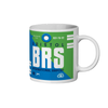Bristol Airport - BRS - Coffee Mug - Bristol, United Kingdom