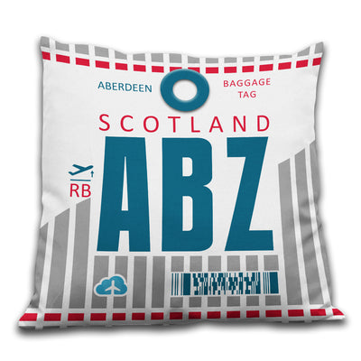 Aberdeen Airport - ABZ - Cushions Pillows - Aberdeen, United Kingdom