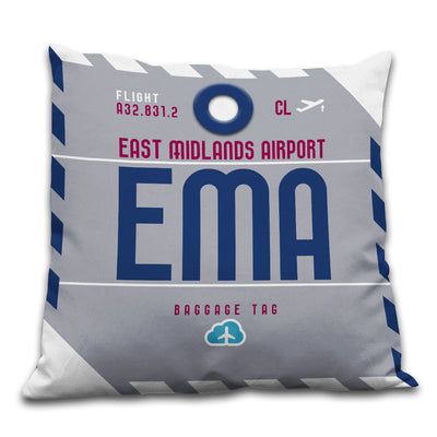 East Midlands Airport - EMA - Cushions Pillows - Nottingham, United Kingdom