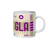 Glasgow Airport - GLA - Coffee Mug - Glasgow, United Kingdom