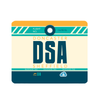 DSA - Doncaster Sheffield Airport Mousepad or Mouse Mat