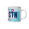 London Stansted Airport - STN - Coffee Mug - London, United Kingdom