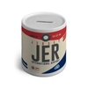 JER - Jersey Airport Ceramic Money Box