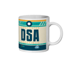 Doncaster Sheffield Airport - DSA - Coffee Mug - Doncaster, Sheffield, United Kingdom