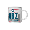 Aberdeen Airport - ABZ - Coffee Mug - Aberdeen, United Kingdom