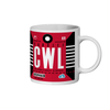 Cardiff  Airport - CWL - Coffee Mug - Cardiff, United Kingdom