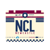 NCL - Newcastle Airport Mousepad or Mouse Mat