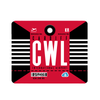 CWL - Cardiff Airport Mousepad or Mouse Mat