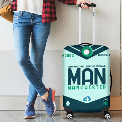 MAN - Manchester Airport Luggage Cover