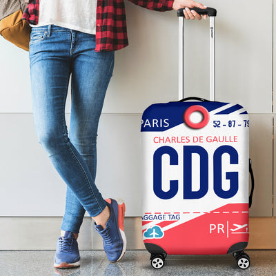 CDG - Paris Airport Luggage Cover