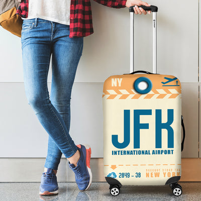 JFK - New York Airport Luggage Cover