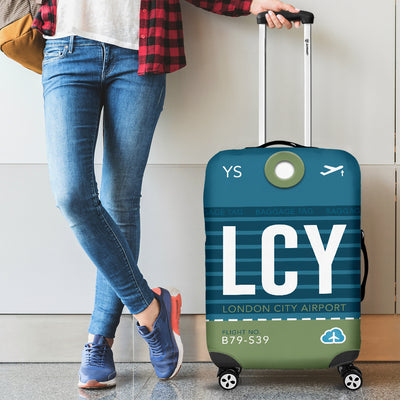 LCY - London City Airport Luggage Cover