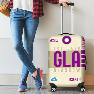 GLA - Glasgow Airport Luggage Cover