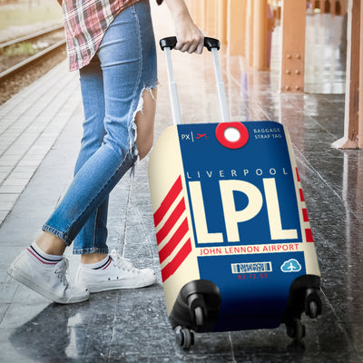 LPL - Liverpool John Lennon Airport Luggage Cover