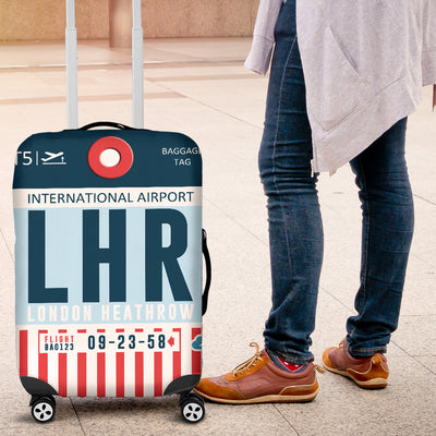 LHR - London Heathrow Airport Luggage Cover