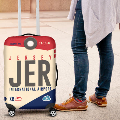 JER - Jersey Airport Luggage Cover