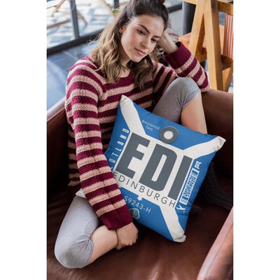 EDI - Edinburgh Airport Cushion & Cover