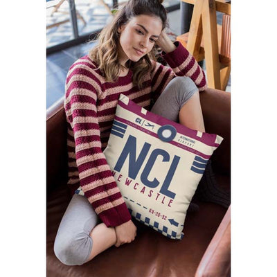 NCL - Newcastle Airport Cushion & Cover