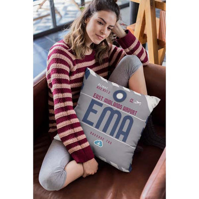 EMA - East Midlands Airport Cushion & Cover