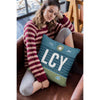 LCY - London City Airport Cushion & Cover