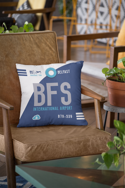 BFS - Belfast Airport - Cushions Pillows - Belfast, United Kingdom