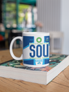 Coffee Mug - SOU - Southampton Airport - Southampton, United Kingdom