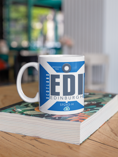 Coffee Mug - EDI - Edinburgh Airport - Edinburgh, United Kingdom