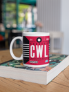 Coffee Mug - CWL - Cardiff Airport - Cardiff, United Kingdom