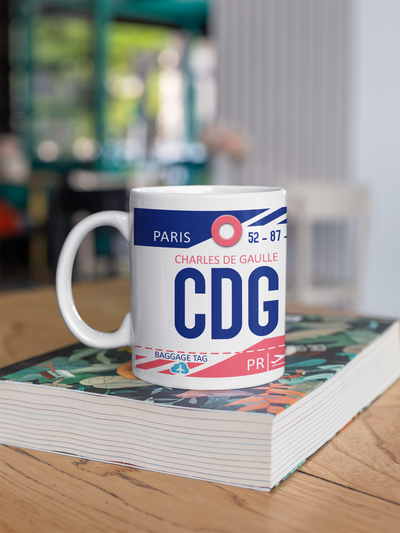 Coffee Mug - CDG - Paris Charles de Gaulle Airport - Paris, France